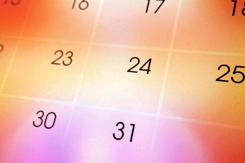 Pollen kalender 2020